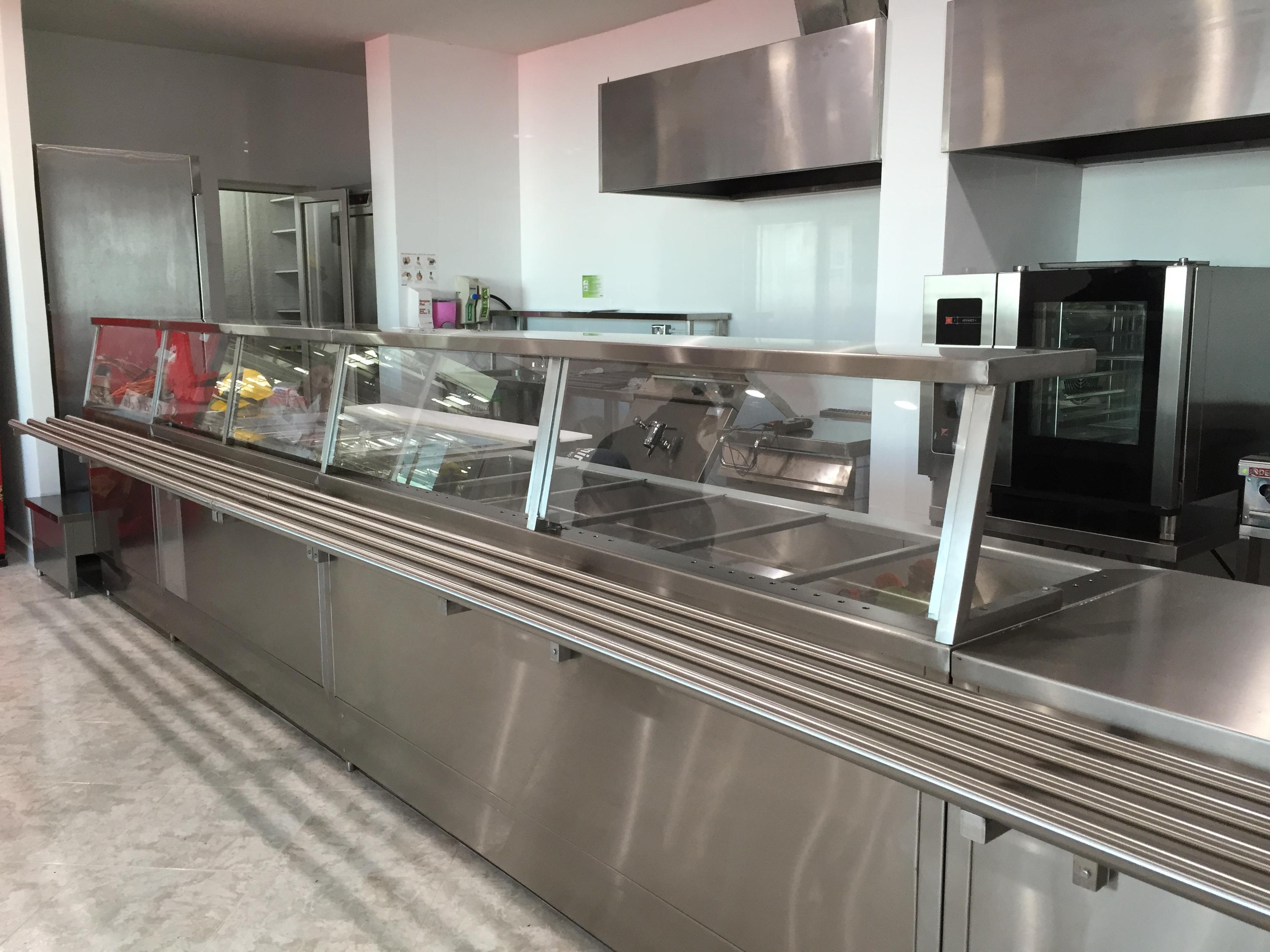 Cocinas industriales equipamiento y muebles de acero - Muebles de cocina de acero inoxidable ...